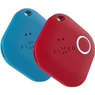 FIXED Smile PRO Duo Pack - kék + piros - Bluetooth kulcskereső
