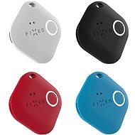 FIXED Smile PRO 4-PACK fekete, fehér, kék, piros - Bluetooth kulcskereső