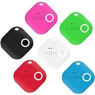 FIXED Smile 6-PACK mozgásérzékelővel (fekete, fehér, piros, kék, zöld, rózsaszín) - Bluetooth kulcskereső
