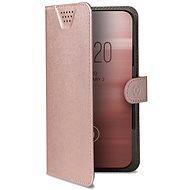 """CELLY Wally One, XXXL-es méret 5.5-6.0""""-es képátlóhoz, rózsaszín - Mobiltelefon tok"""