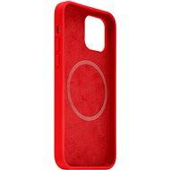 FIXED MagFlow MagSafe támogatással az Apple iPhone 12/12 Pro készülékhez piros - Mobiltelefon hátlap