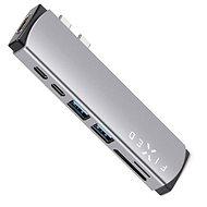 FIXED HUB Mac 7IN1 - MacBook készülékekre szürke - USB Hub