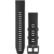 Garmin QuickFit 22 - fekete szilikon - Szíj