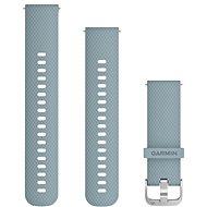 Garmin Quick Release 20 szilikon seafoam navy (ezüst csat) - Szíj
