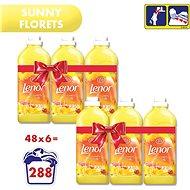 LENOR Sunny Florets 6 × 1,42 l, (288 mosás) - Öblítő