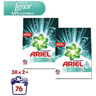 ARIEL Touch of Lenor Unstoppables 2 × 2,85 kg (76 adag)