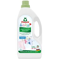 FROSCH EKO Baby hipoallergén folyékony mosószer babaruhákhoz 1,5 l (21 mosás) - Öko-mosógél