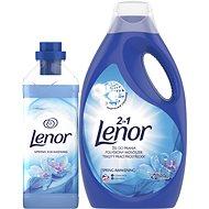 LENOR Spring Awakening mosószer 2,2 l (40 mosás) + öblítő 930 ml (31 mosás) - Drogéria szett
