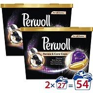 PERWOLL Renew & Care Black 2× 27 db - Mosókapszula