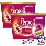 PERWOLL Renew & Care Color 2× 27 db - Mosókapszula