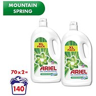 ARIEL Mountain Spring 2× 3,85 l (140 adag) - Mosógél