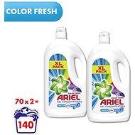 ARIEL Touch of Lenor Color 2 × 3,85 l (140 mosás) - Mosógél