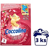 Coccolino Fiori di Tiaré e Frutti Rossi - Pink 3 db - Szekrény illatosító