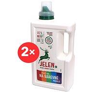 JELEN Mosógél színes ruhákhoz 2× 2,7 l (120 mosás) - Öko-mosógél