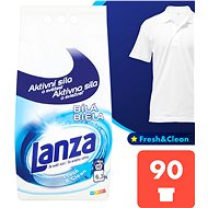 LANZA Fresh & Clean White 6.3 kg (90 darab) - Mosószer