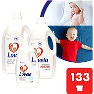 LOVELA Gigapack Color 9,4 l (133 mosás) + ajándék öblítő - Folyékony mosószer