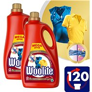WOOLITE Mix Colors 2× 3,6 l (120 mosás) - Mosógél