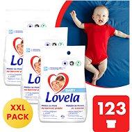 LOVELA Baby színes ruhákhoz 3 × 4,1 kg (123 mosás) - Mosószer
