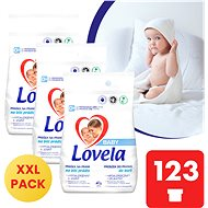 LOVELA Baby fehérneműhöz 3 × 4,1 kg (123 mosás) - Mosószer