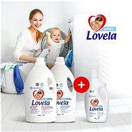 LOVELA Baby fehér ruhákra 4,5 l (50 mosás) + LOVELA Baby színes ruhákra 4,5 l (50 mosás) - Mosógél