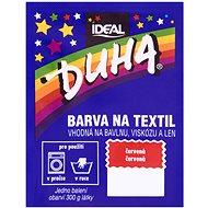 DUHA Textilfesték - piros 15 g - Textilfesték
