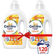 COCCOLINO Care Gel Sport 2 × 2,4 l (120 mosás) - Mosógél