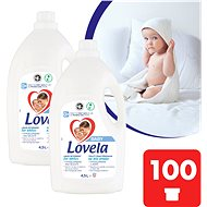 LOVELA Baby fehér ruhaneműre 2 × 4,5 l (100 adag) - Mosógél