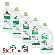 FROSCH Baby 5 × 1,5 l baba textíliákra (105 mosás) - Öko-mosógél