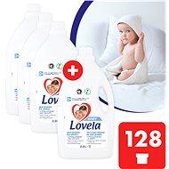 LOVELA Baby fehér ruhaneműre 4 × 2,9 l (128 adag) - Mosógél