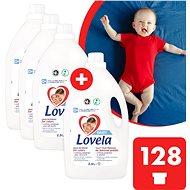 LOVELA Baby színes ruhanemáre 4 × 2,9 l (128 adag) - Mosógél