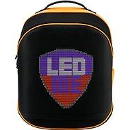Prestigio LEDMe fekete-narancs - Laptop hátizsák