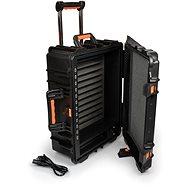 PORT CONNECT gördülő töltőszekrény, töltőkosár kerekeken 12 eszközhöz, fekete - Töltőállomás