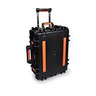 PORT CONNECT CHARGING SUITCASE 20 Tablet + 1 NB, töltős hordtáska kerekekkel, fekete - Töltőállomás