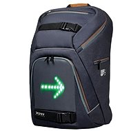 """PORT DESIGNS GO LED 15.6"""" szürke/barna - Laptop hátizsák"""