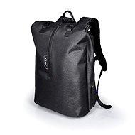 PORT DESIGNS NEW YORK BACKPACK táska 15,6 hüvelykes laptophoz és 10,1 hüvelykes tablethez, szürke