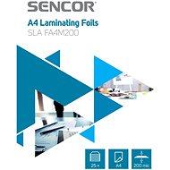 SENCOR SLA FA4M200 A4 200 mic 25 db - Lamináló fólia