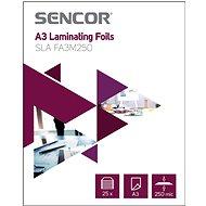 SENCOR SLA FA3M250 A3 250mic - 25 db - Lamináló fólia