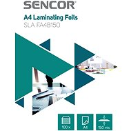 SENCOR SLA FA4B150 A4 150mic - 100 db - Lamináló fólia