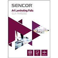 SENCOR SLA FA4B250 A4 250mic - 100 db - Lamináló fólia