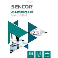 SENCOR SLA FA4M150 A4 150mic - 25 db - Lamináló fólia
