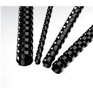 EUROSUPPLIES A4 16 mm fekete - csomag 100 db - Irattartó spirál
