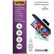 Fellowes A4 80 mic ImageLast - Lamináló fólia