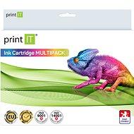 PRINT IT Multipack PGI-520Bk + CLI-521C/M/Y/Bk Canon nyomtatókhoz - Utángyártott tintapatron