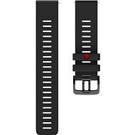 POLAR Grit X 22 mm-es heveder Polar Vantage M / Polar Grit X fekete M / L-hez
