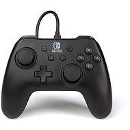 PowerA Wired Controller - matt fekete - Nintendo Switch