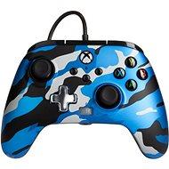 PowerA Enhanced Wired Controller - Metallic Blue Camo - Xbox - Kontroller