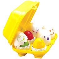 Játék szett Mókás csipogó tojások - Herní set