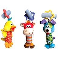 Playgro Travel lógó játékok 3 db - Játék babakocsiba