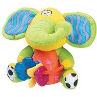 Playgro Csörgő elefánt rágókával - Plüssjáték