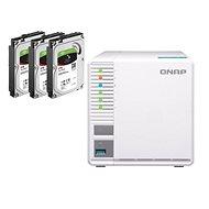 QNAP TS-328 + 3x2TB HDD RAID5 - Adattároló eszköz